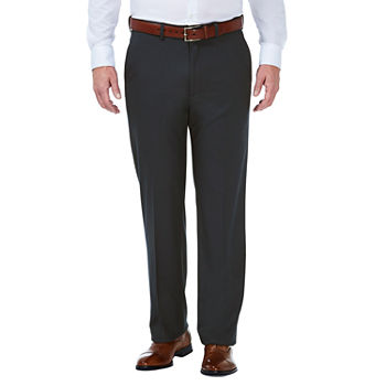 J.M. Haggar Charcoal Stretch Classic Fit Suit Pants