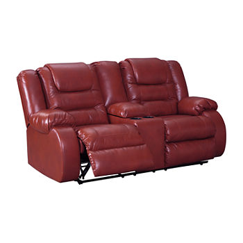 Super Faux Leather Red Sofas For The Home Jcpenney Evergreenethics Interior Chair Design Evergreenethicsorg