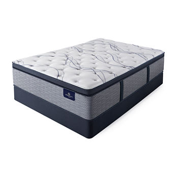Serta® Perfect Sleeper® Shelburne Plush Pillowtop - Mattress + Box Spring