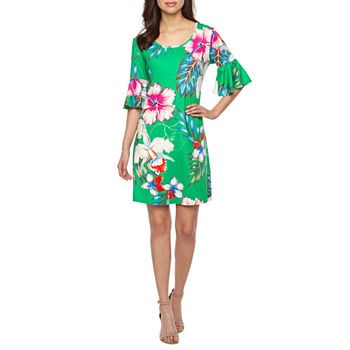 92709a4b Bell Sleeve Dresses - JCPenney