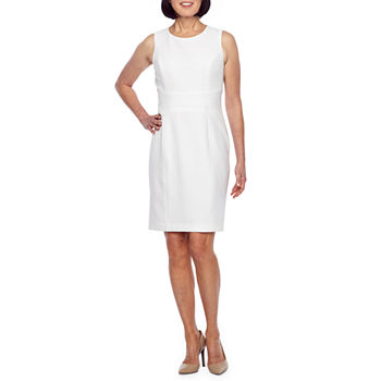 999f44769db Solid White Church Dresses for Women - JCPenney