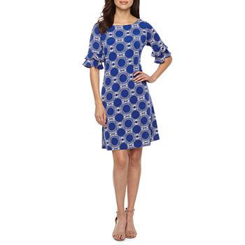a6b243d19c4c Bell Sleeve Dresses - JCPenney