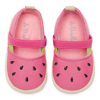 So Adorable Girls Crib Shoes
