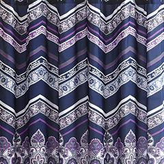 Intelligent Design Kinley Printed Shower Curtain