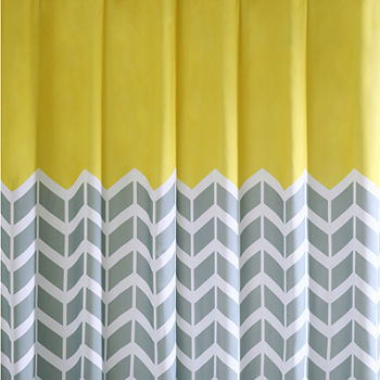 Intelligent Design Carmen Ultra Soft Shower Curtain Add To Cart Yellow LOW PRICE EVERYDAY