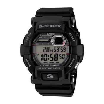 Casio G-Shock Mens Black Strap Watch-Gd350-1