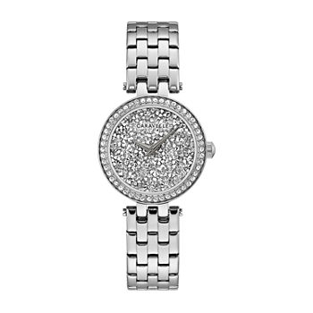 Caravelle Designed By Bulova Womens Silver Tone Stainless Steel Bracelet Watch - 43l210
