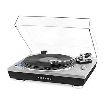 Victrola VPRO-2000 Pro Series USB Record Player with 2-Speed Turntable and Dust Cover