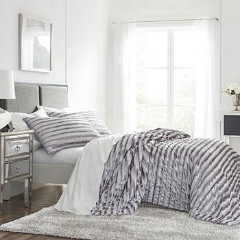 Westpoint Home Crushed Velvet Quilt Set