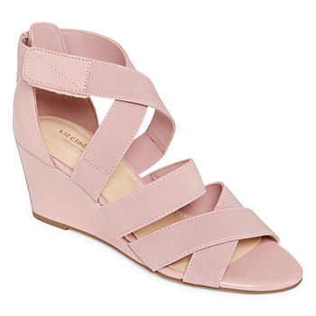059a4621e8f Liz Claiborne Womens Pomona Wedge Sandals · (1). Add To Cart. Only at JCP