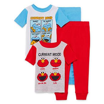 220e2b24fe Sesame Elmo Pajamas for Kids - JCPenney