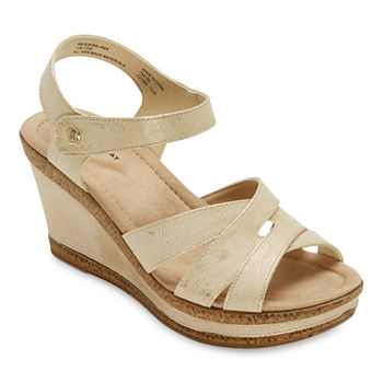 St. John's Bay Womens Balama Wedge Sandals