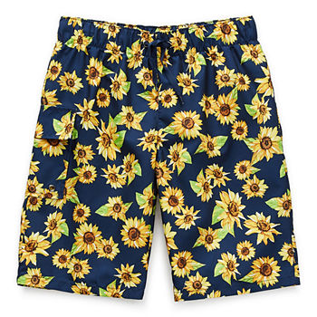 Peyton & Parker Little & Big Boys Floral Swim Trunks