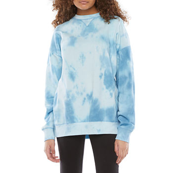 Flirtitude Juniors Oversized Sweatshirt