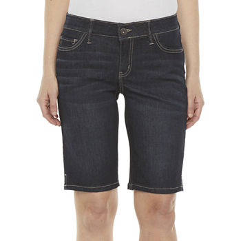 "Liz Claiborne Womens Stretch 11"" Bermuda Short"