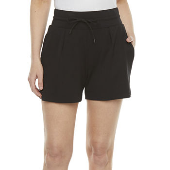 Stylus Womens High Rise Pull-On Short