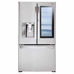 LG ENERGY STAR® 24 cu. ft. InstaView™ Door-in-Door® Counter-Depth Refrigerator