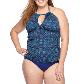 3a4d4c6302168 Adjustable Straps Blue Swimsuits   Cover-ups for Women - JCPenney