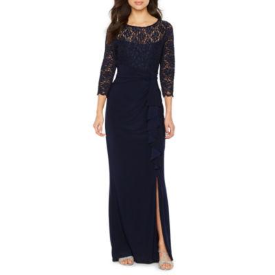 Dress barn rose sheath dress with lace