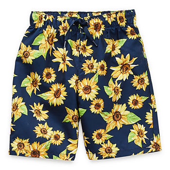 Peyton & Parker Toddler Boys Floral Swim Trunks