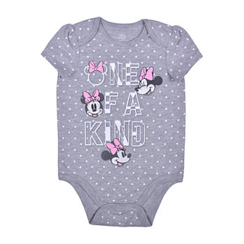 Okie Dokie Baby Girls Minnie Mouse Bodysuit