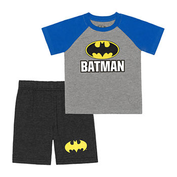 Toddler Boys 2-pc. Batman Short Set