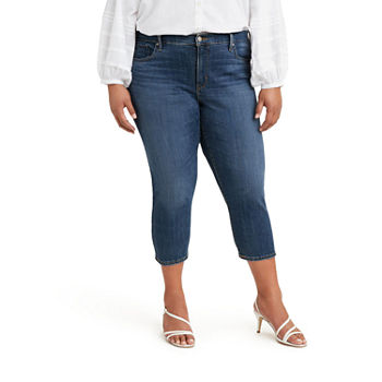 Levi's Shaping Mid Rise Plus Capris