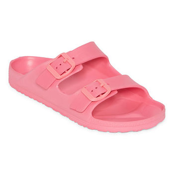 Little & Big Girls Slide Sandals