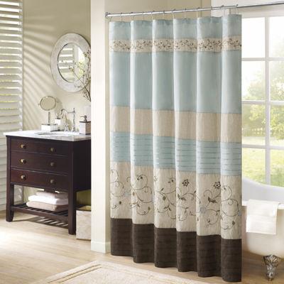 Gentil Madison Park   Shower Curtains Multi