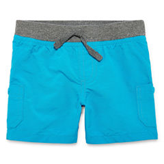 Arizona Poplin Cargo Shorts - Baby Boys