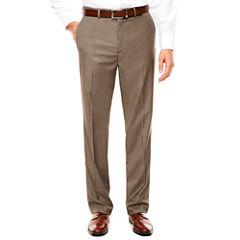 Savane Flat Front Premium Flex Gabardine Dress Pants