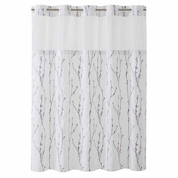 purple and grey shower curtain. Purple Grey  LOW PRICE EVERYDAY Shower Curtains for Bed Bath JCPenney