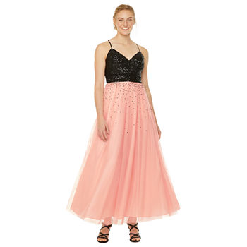 Jackie Jon Sleeveless Ball Gown-Juniors