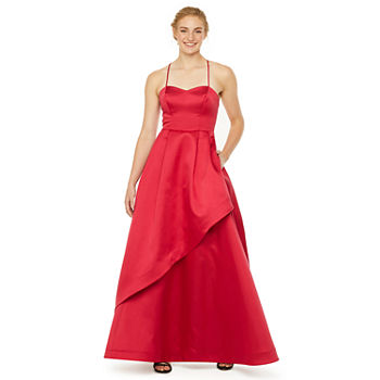 Social Code Sleeveless Ball Gown-Juniors