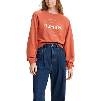 Levi's Vintage Womens Crew Neck Long Sleeve Sweatshirt