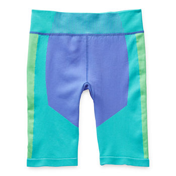 Xersion Little & Big Girls Stretch Bike Short