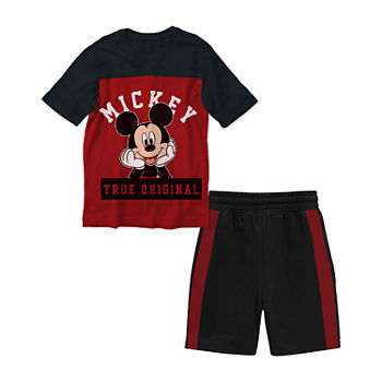 a87b0065faba7 Disney 2-pc. Mickey Mouse Short Set Toddler Boys · (1). Add To Cart. Few  Left