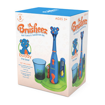 Brusheez Children's Electronic Toothbrush Set – Buddy the Bear
