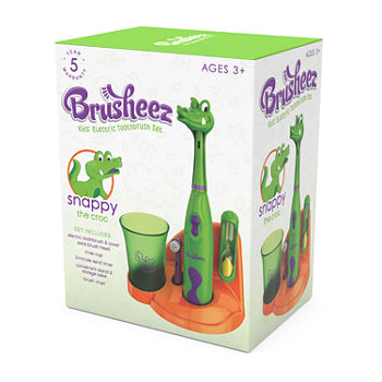 Brusheez Children's Electronic Toothbrush Set – Snappy the Croc
