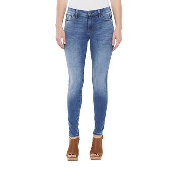 a.n.a Womens High Rise Skinny Jeggings - Tall