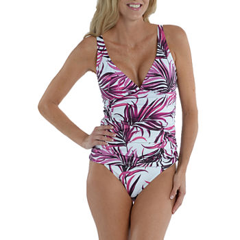 Sonnet Shores Leaf Tankini Swimsuit Top