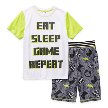 Jammers Kids Little & Big Boys 2-pc. Shorts Pajama Set