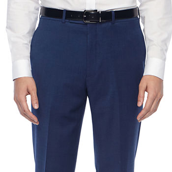 Collection by Michael Strahan  Mens Grid Classic Fit Suit Pants
