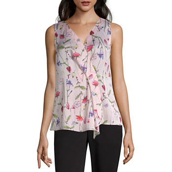 00e0dc04f718b7 Liz Claiborne Womens V Neck Sleeveless Blouse · (6). Add To Cart. Only at  JCP