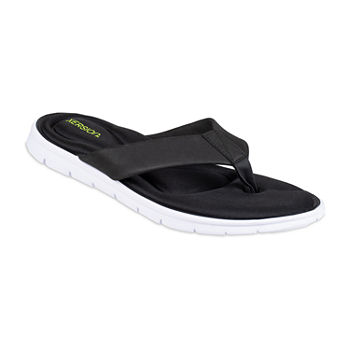 Xersion® Footbed Momory Foam Flip Flops