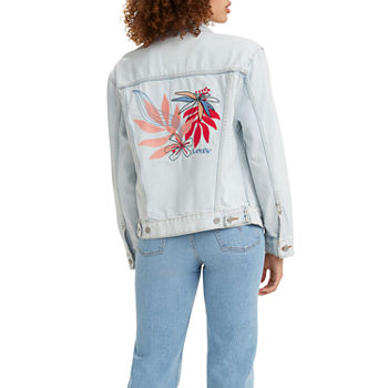 Levi's Ex Boyfriend Trucker Lightweight Denim Jacket