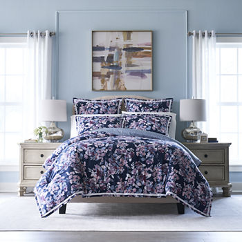 Liz Claiborne Flora 3-pc. Duvet Cover Set