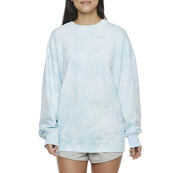 Flirtitude Juniors Tie-dye Sweatshirt