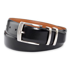 Van Heusen® Black Leather Belt–Big & Tall