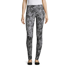 Mixit Lila Lace Print Leggings Tall